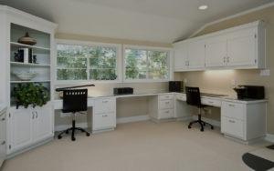 custom home office solutions by closet envee
