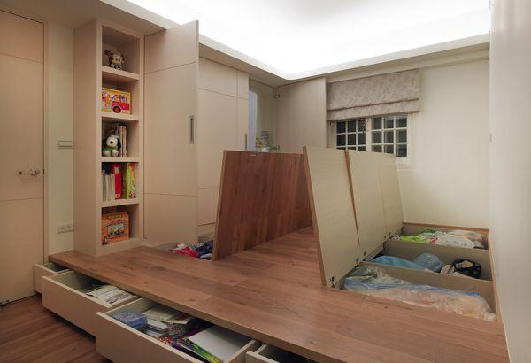 Hidden Storage: 5 Ways To Use Empty Space