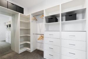 large walk in wardrobe custom closet