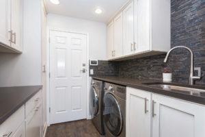 custom laundry room storage solutions